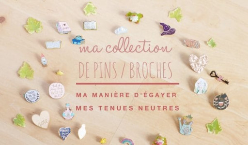 Ma collection de pins / broches