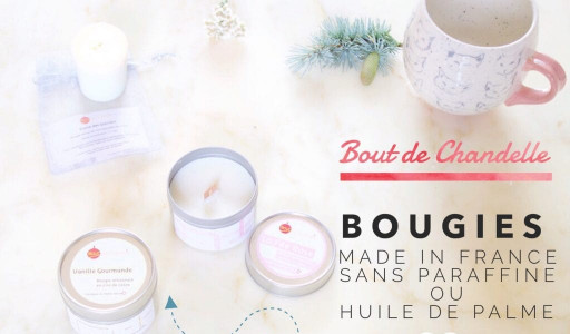 Bout de chandelle ✨ des bougies made in France