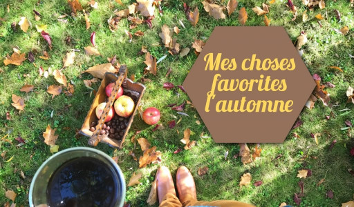 Mes choses favorites en automne