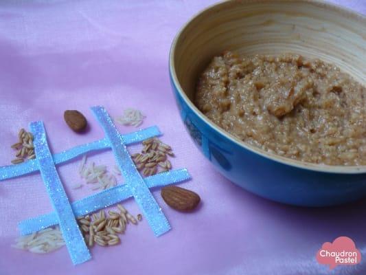 porridge frangipane petit d jeuner sant chaudron pastel de m ly. Black Bedroom Furniture Sets. Home Design Ideas