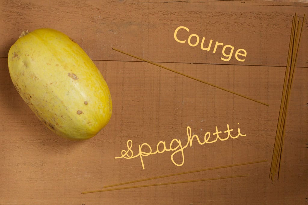 Courge spaghetti cuisson pr paration - Comment cuisiner une courge spaghetti ...