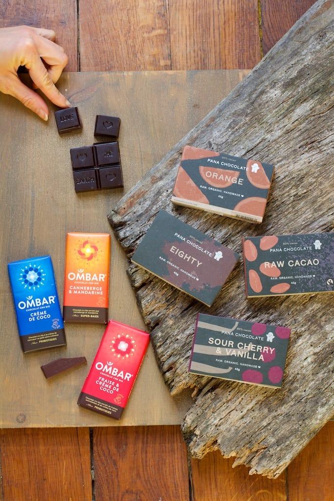 cacao cru ombar pana chocolate