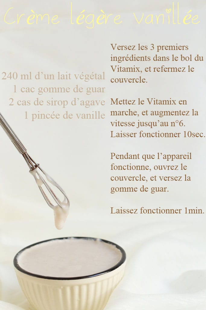 Cr me maison saine gourmande beurre l g re chantilly - Chantilly maison sans syphon ...