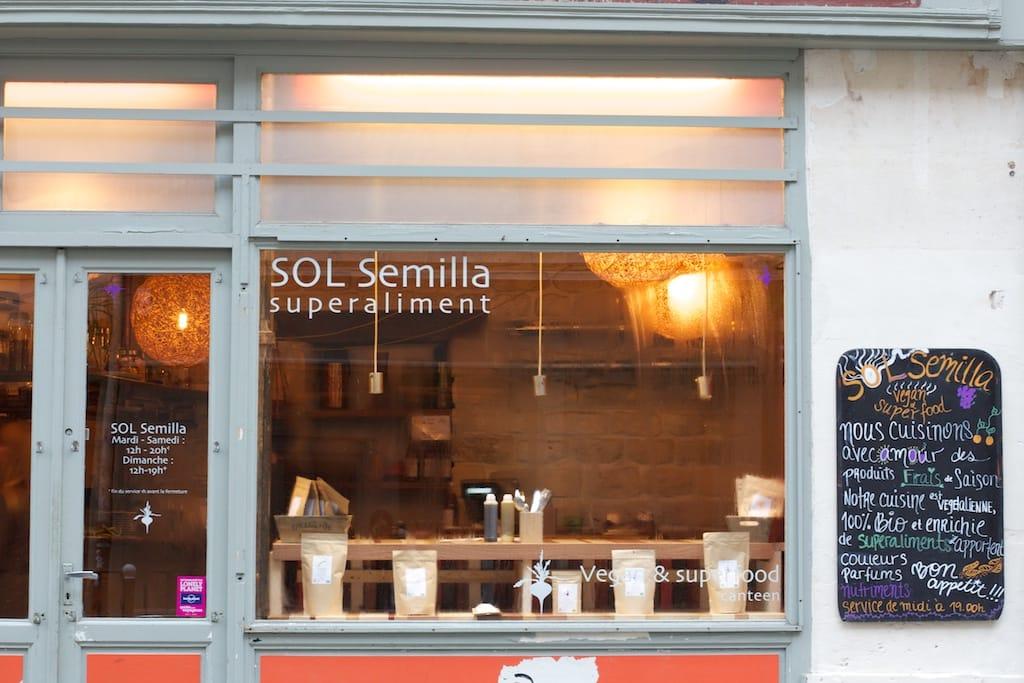 Restaurant Semilla Paris Eme