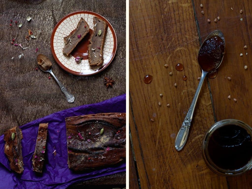 fondant sain & bio au miel de sarrasin, galanga & mélange épices maison