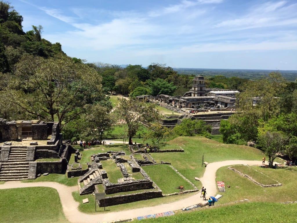 ruines Palenque cite maya