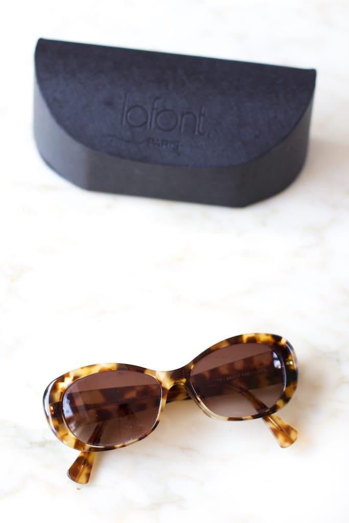 lunettes soleil lafont (portrait)