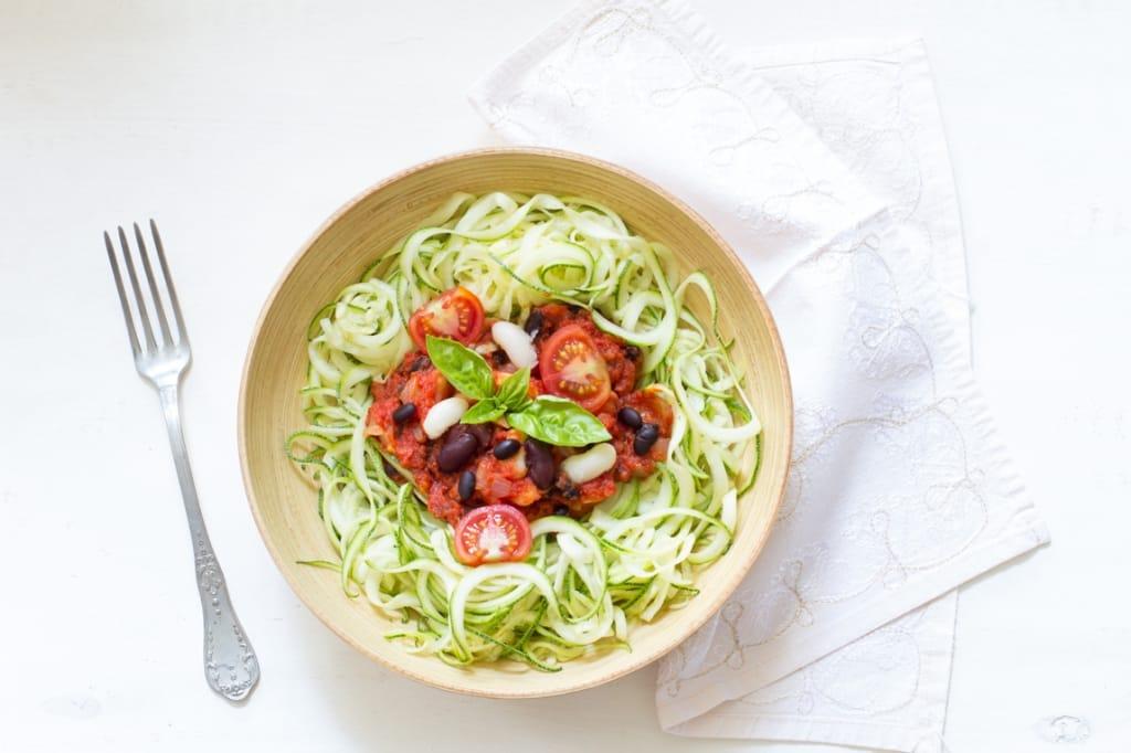 Spaghetti courgettes-039