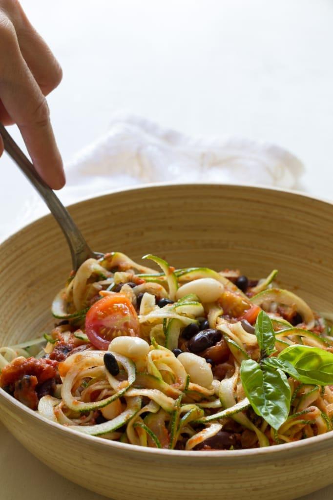 Spaghetti courgettes-053
