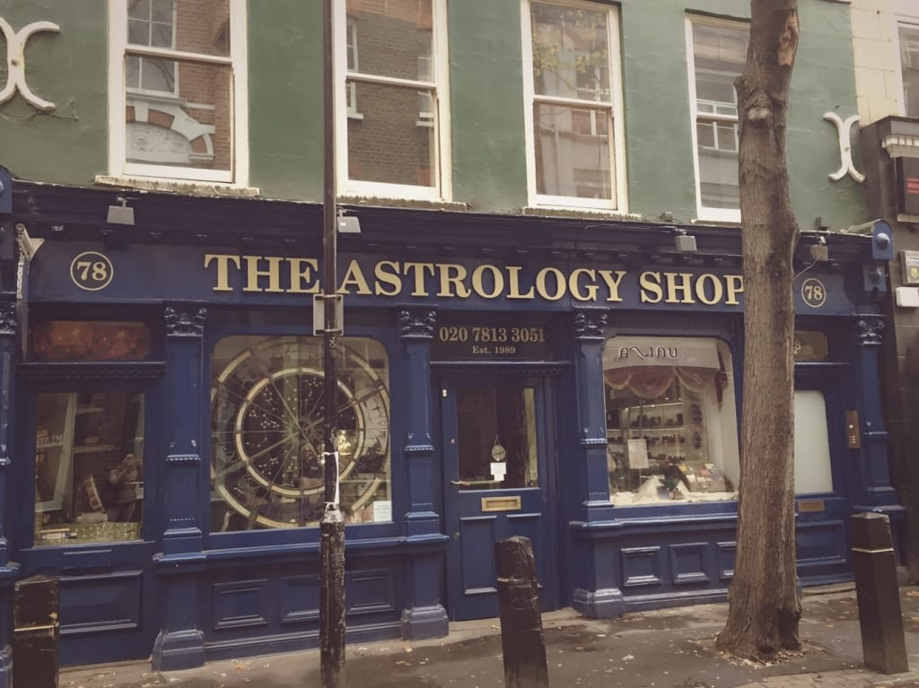 astrology shop london