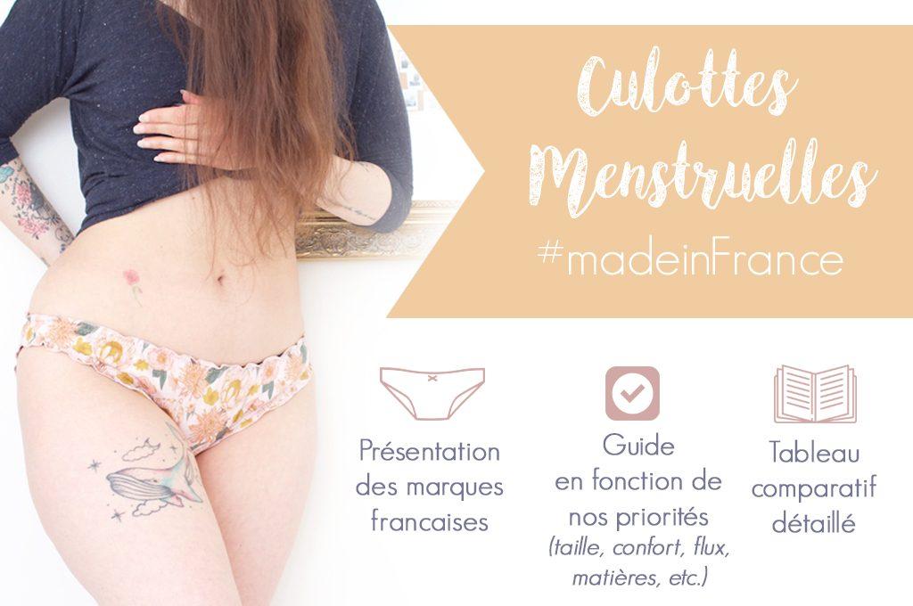 Culottes menstruelles : toutes les marques françaises